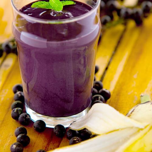 Acai Smoothie with Banana